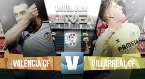 Resultado Valencia vs Villarreal (0-0)