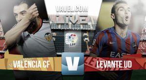 Resultado Valencia vs Levante (3-0)
