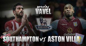 Southampton - Aston Villa: sin tiempo para dejar de escalar