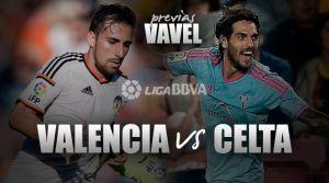 Valencia CF - Celta de Vigo: el camino hacia Europa pasa por Mestalla