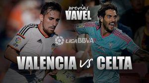 Valencia CF - Celta de Vigo: invitación para el último baile