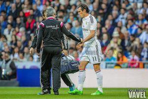Bale tiene una lesión en el sóleo y será baja para el derbi