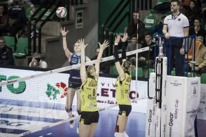 L'Imoco centra la quattordicesima vittoria consecutiva e si impone 3-0 su Montichiari
