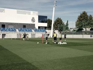 Dos entrenamientos en Valdebebas antes de viajar a Valencia