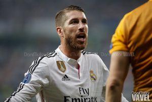 Ramos terminó el partido ante la Juventus con el sóleo roto