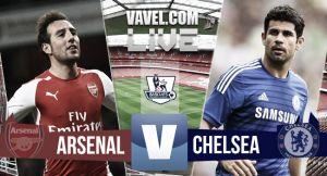Resultado Arsenal vs Chelsea (0-0)