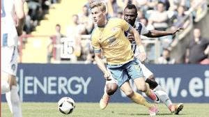 Resumen Wolfsburgo 1-0 Eintracht Braunschweig en la ida del Play-out Bundesliga