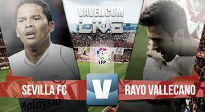 Sevilla vs Rayo Vallecano: resultado en vivo y en directoonline de la Liga BBVA 2015