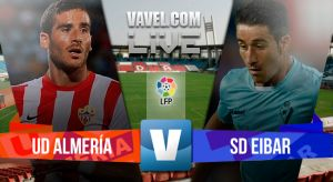 Almería vs Eibar en vivo y en directo online en la Liga BBVA 2015 (2-0)