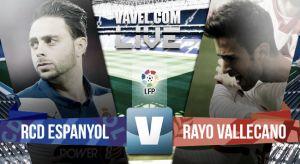 Resultado Espanyol vs Rayo Vallecano en la Liga BBVA 2015 (1-1)