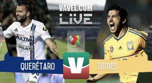 Resultado Querétaro vs Tigres en Liga MX 2015 (1-3)