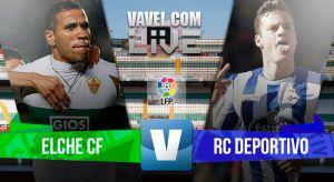 Resultado Elche vs Deportivo de La Coruña (4-0)