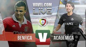 Resultado Benfica vs Académica en la Liga Portuguesa 2015 (5-1)