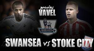 Swansea City - Stoke City: a por los mejores cursos ligueros de su historia