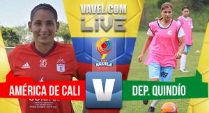 Resultado América vs Quindío en Liga Águila Femenina 2017 (5-0)