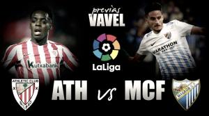 Athletic Club de Bilbao - Málaga CF: el descenso implica una reacción inmediata