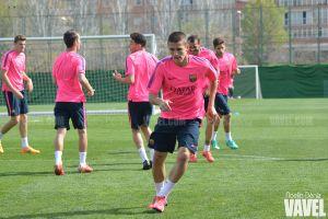 Sergi Palencia renueva con el Barcelona hasta 2018