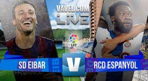Resultado Eibar vs Espanyol en la Liga BBVA 2015 (0-2)