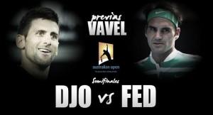 Novak Djokovic - Roger Federer: magia para callar a la lógica