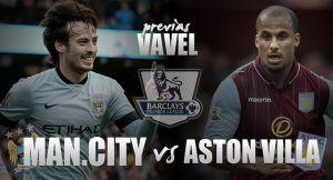 Manchester City - Aston Villa: objetivos opuestos