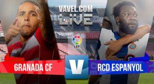 Resultado Granada vs Espanyol (1-2)