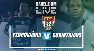 Ferroviária vence o Corinthians pelo Campeonato Paulista (1-0)
