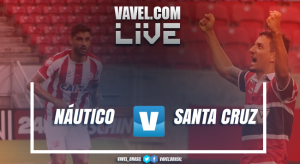 Resultado Náutico x Santa Cruz na Copa do Nordeste 2017 (1-0)