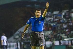 Puebla nunca ha perdido con Vicente Barajas como árbitro central