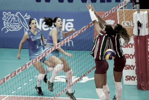 Osasco vence Fluminense novamente e se classifica para as semifinais da Superliga Feminina