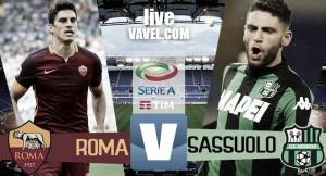 Risultato Roma - Sassuolo in diretta, LIVE Serie A 2016/17 - Defrel, Paredes, Salah, Dzeko!(3-1)