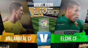 Resultado Villarreal - Elche 2015 en la Liga BBVA 2015 (1-0)