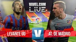 Resultado Atlético Madrid 1-0 Levante UD en Liga 2016: el líder es rojiblanco