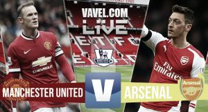 Resultado Manchester United vs Arsenal en la Premier League 2015 (1-1)