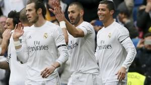 Real Madrid a valanga, Gijon demolito 5-1
