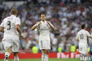 """Chicharito: """"La temporada en el Real Madrid fue de mucho aprendizaje"""""""
