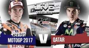 Viñales gana en Qatar tras un bonito duelo con Dovizioso, Rossi 3º y Márquez 4º