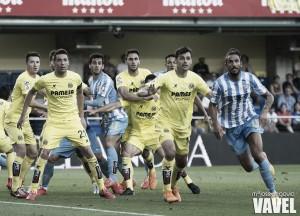 El Madrigal, escenario favorable ante el Málaga