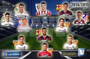 El Once de Oro de VAVEL: temporada 2014/15