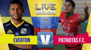 Resultado Everton vs Patriotas en CONMEBOL Sudamericana 2017 (1-0)