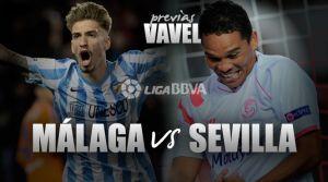 Málaga CF- Sevilla FC: Europa tiene un color especial