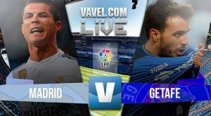 Real Madrid vs Getafe en vivo online en la liga BBVA 2015 (0-0)