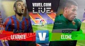 Levante vs Elche en vivo y en directo online en la Liga BBVA 2015
