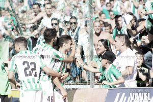 El Real Betis saluda con la 'manita' la Primera División