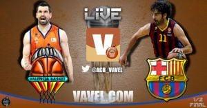 Resultado FC Barcelona - Valencia Basket en la Copa del Rey 2014 (89-81)