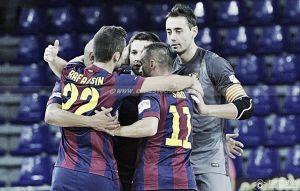 El FC Barcelona, con paso firme en el Palau