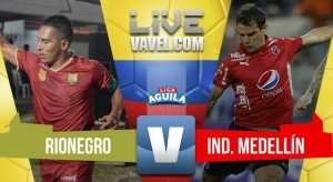 Resumen Rionegro Águilas vs Medellín
