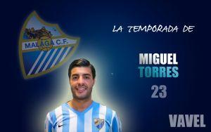 Málaga 2014/2015: la temporada de Miguel Torres