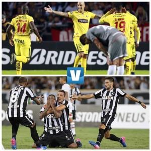 Resumen y goles del Barcelona SC vs Botagofo (1-1) en Copa Libertadores
