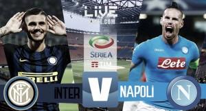 Inter - Napoli in diretta, LIVE Serie A 2016/17 (20:45)