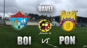 CD Boiro - Pontevedra CF: las cuentas de la lechera en Barraña